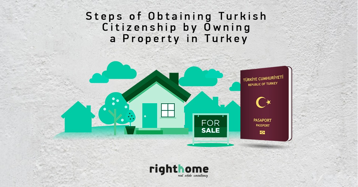 Steps of obtaining Turkish citizenship by owning a property in Turkey