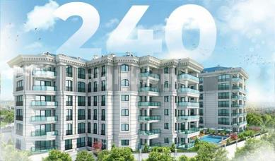 RH 240- Wide family apartments with views of Buyukcekmece Lake