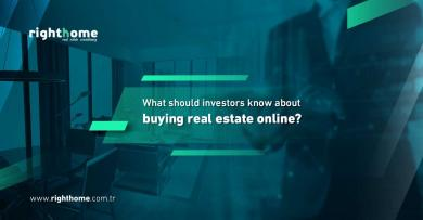 What should investors know about buying real estate online?