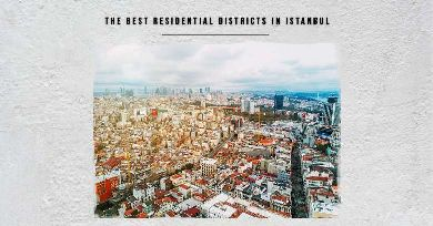 Best places of residence in Istanbul