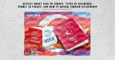 Details about Visa to Turkey, types of residence permit in Turkey, and how to obtain Turkish citizenship