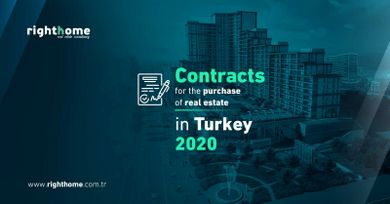Contracts for the purchase of real estate in Turkey 2020