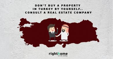 Don't buy a property in Turkey by yourself.. consult a real estate company