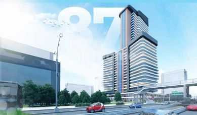RH 87-Residential and investment tower on E5 the main road in Beylikduzu