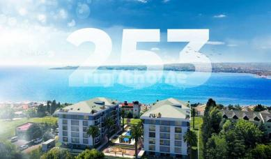 RH 253- Investment project with a view of Marmara Sea in Buyukcekmece