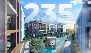 RH 235- Apartments in Beylikduzu near Marmara Sea