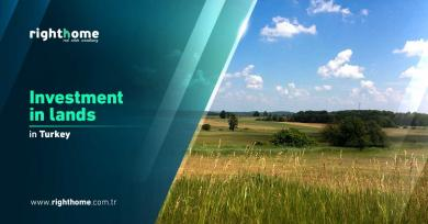 Investment in lands in Turkey