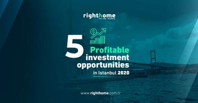 5 Profitable investment opportunities in Istanbul 2020