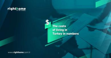 The costs of living in Turkey in numbers