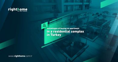 Advantages of buying an apartment in Turkey in a residential complex