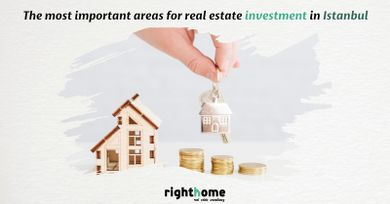 The most important areas for real estate investment in Istanbul