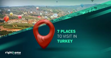 7 places to visit in Turkey