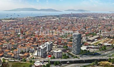 RH 212 - apartment in Asian section of Istanbul in Pendik ready for housing
