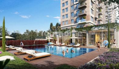RH 264 - apartments with high-end designs in Kartal with sea and forest view